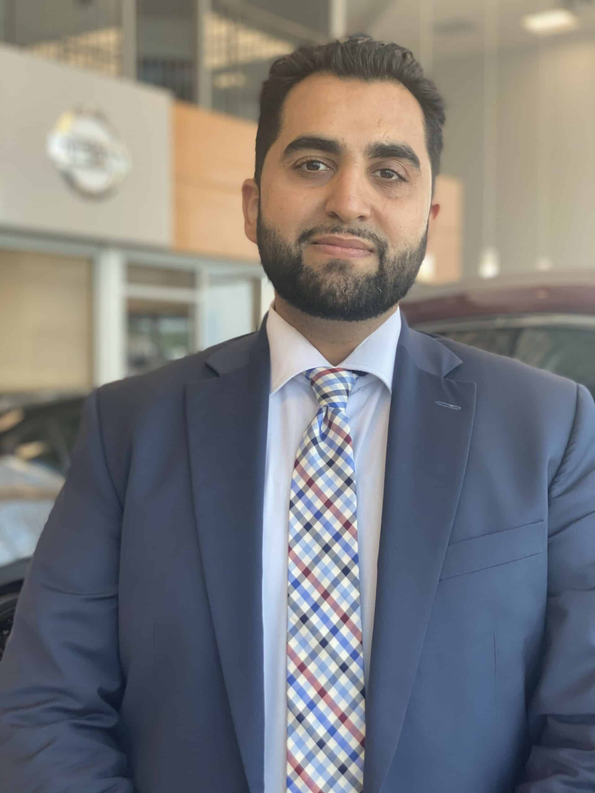Aarman Pervaiz : Assistant Sales Manager