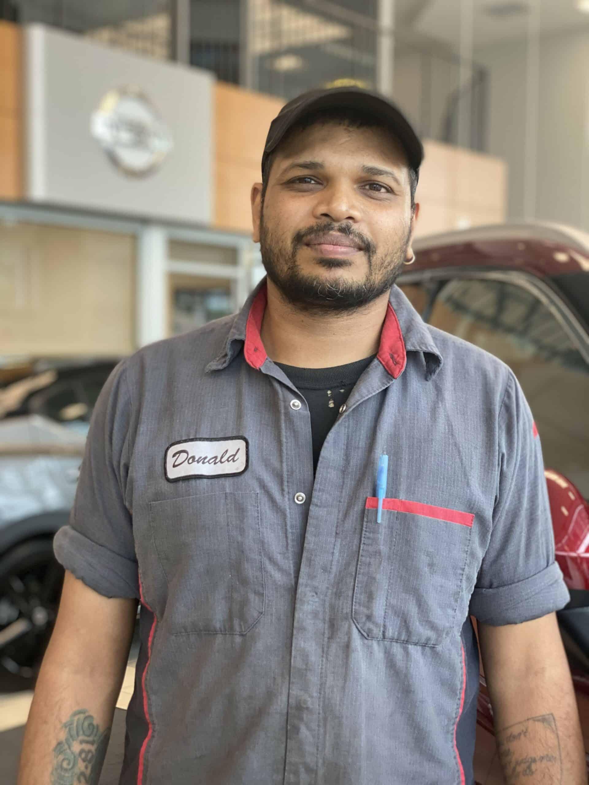 Donald Goberdhan : Master Service Technician