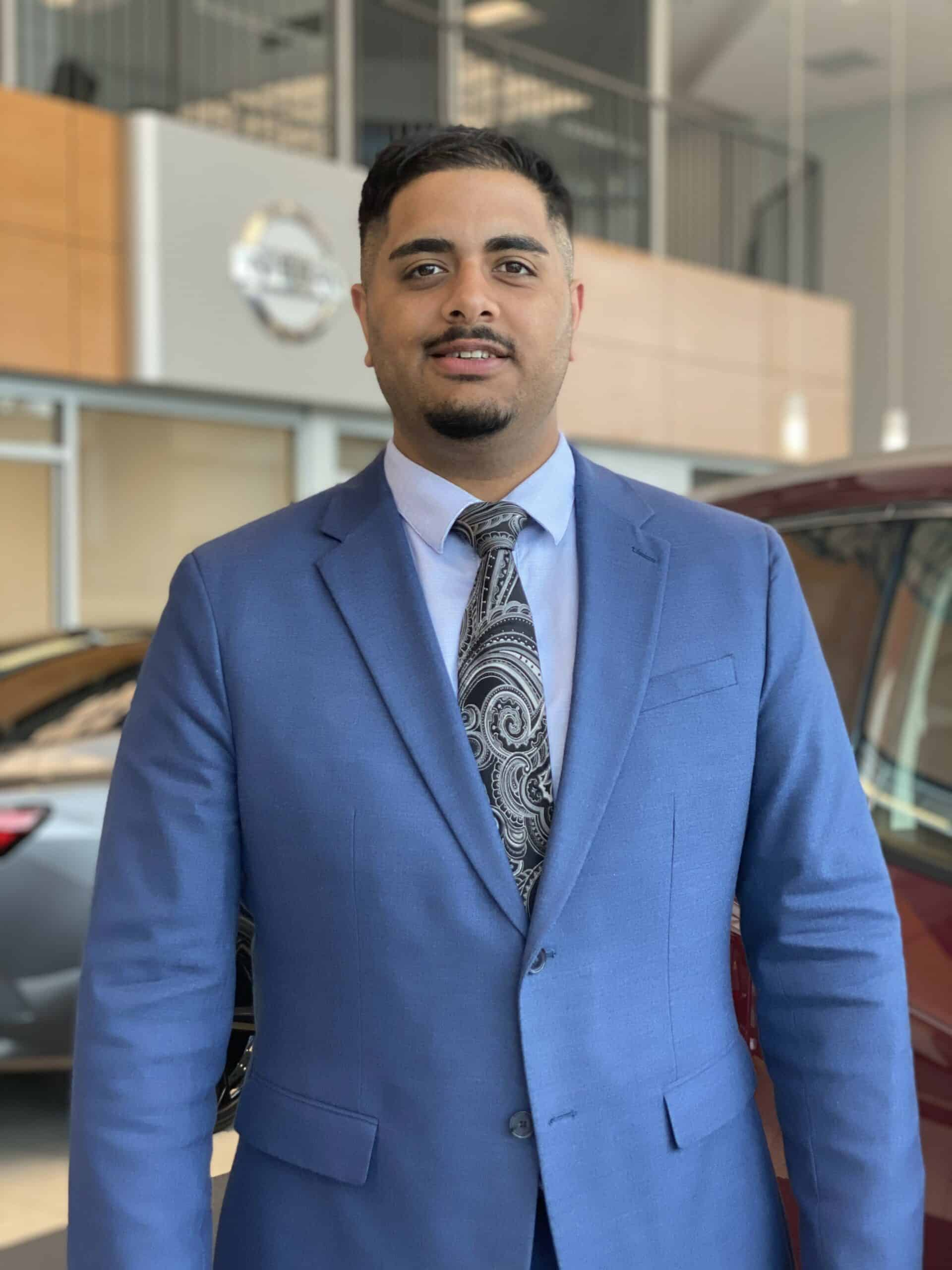Gary Dhanjal : Sales Manager