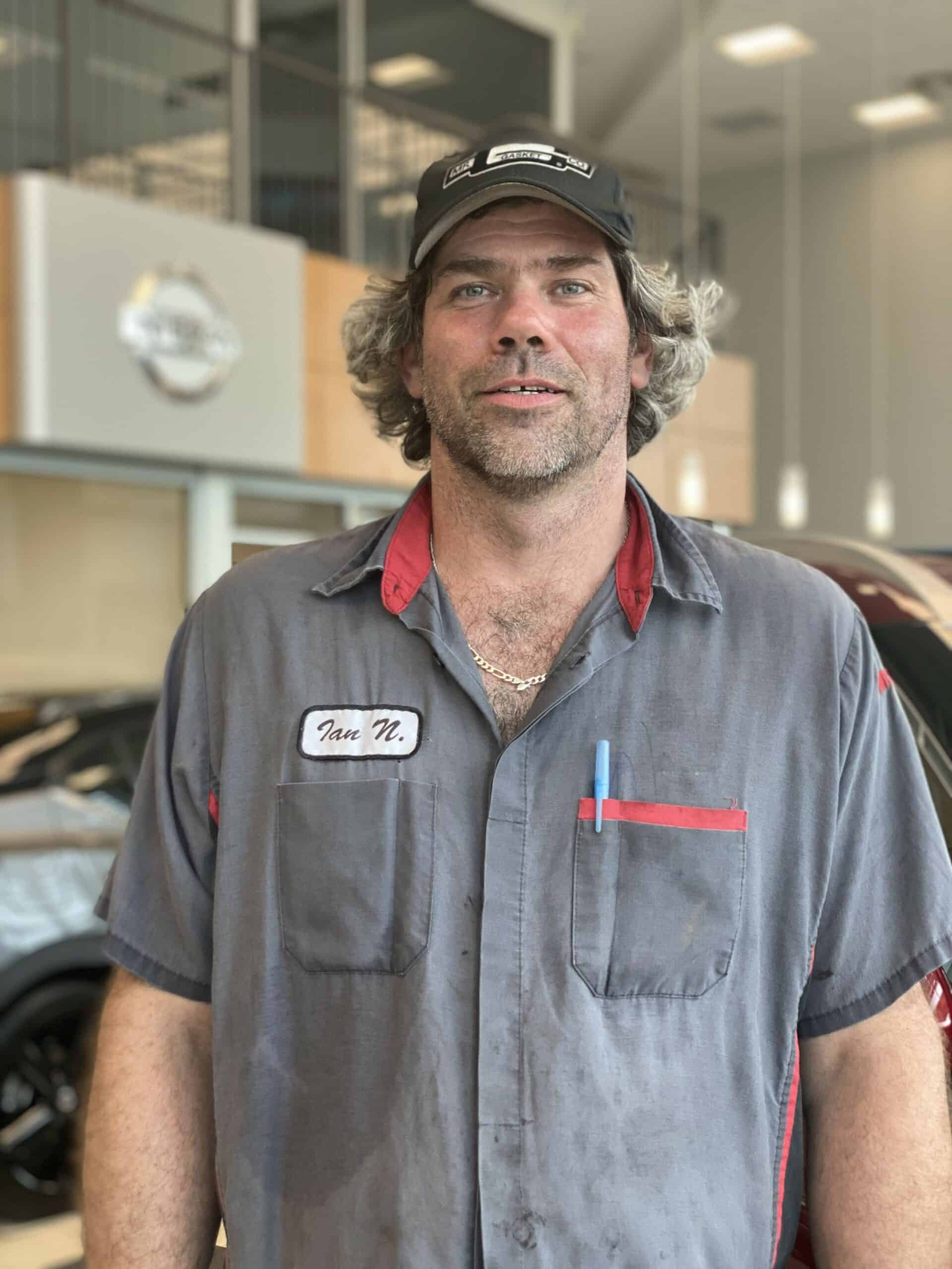 Ian Nisbet : Master Service Technician