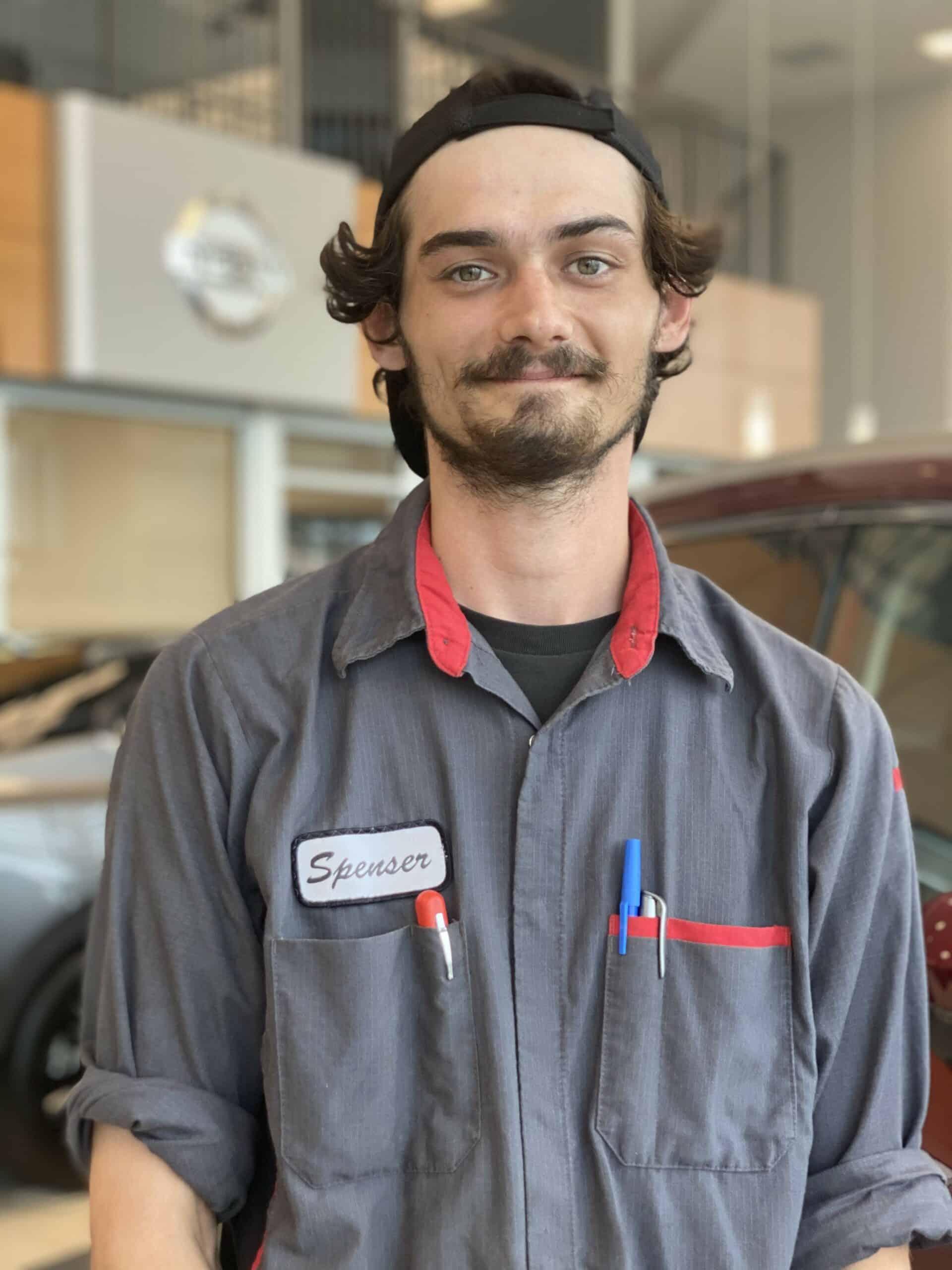 Spenser Heighway : Apprentice Technician